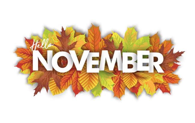 hình ảnh số 9 chào tháng 11 đẹp để làm stt