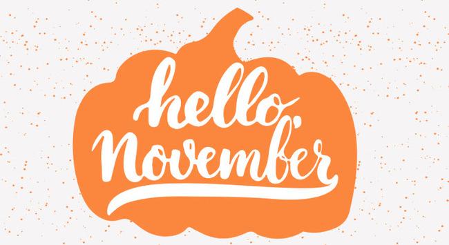 hình ảnh số 3 chào tháng 11 đẹp để làm stt
